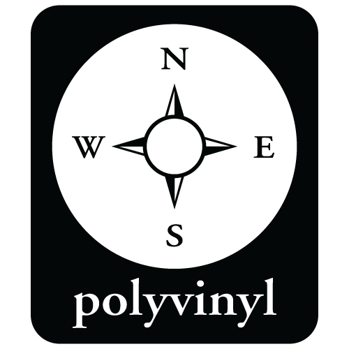 Logo for Polyvinyl Threadless Shop