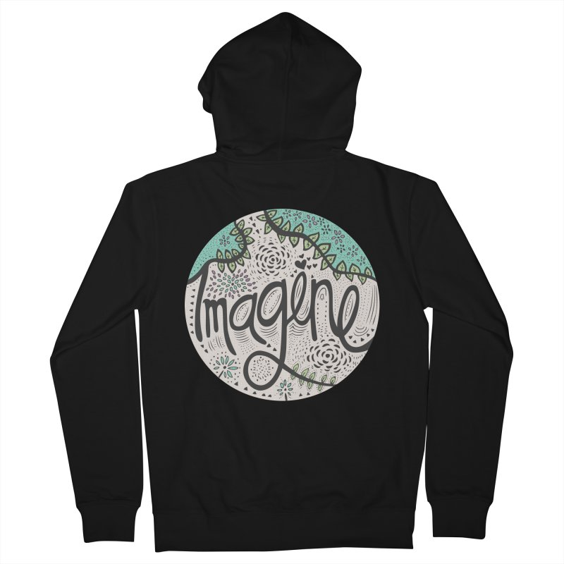 Imagine Nature Women's Zip-Up Hoody by pomgraphicdesign's Shop