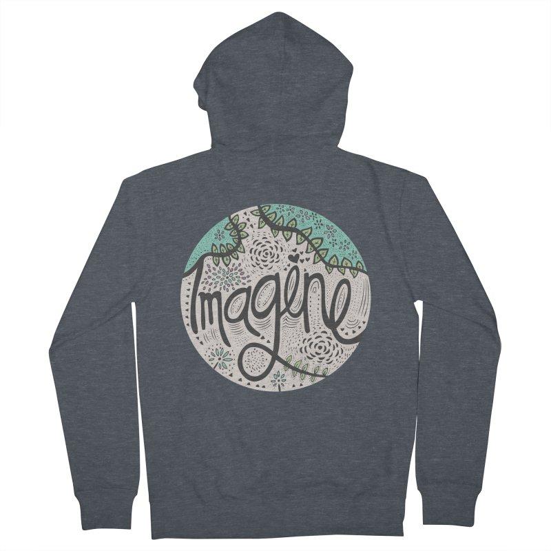 Imagine Nature Men's Zip-Up Hoody by pomgraphicdesign's Shop