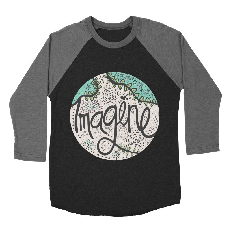 Imagine Nature Men's Baseball Triblend T-Shirt by pomgraphicdesign's Shop