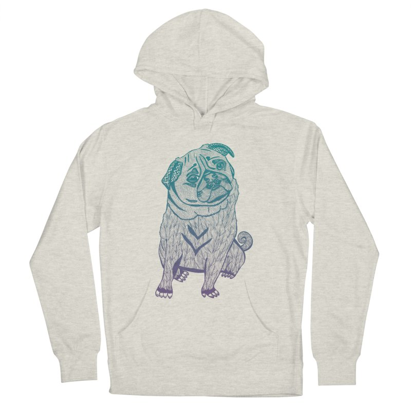 Ares The Pug Men's Pullover Hoody by pomgraphicdesign's Shop