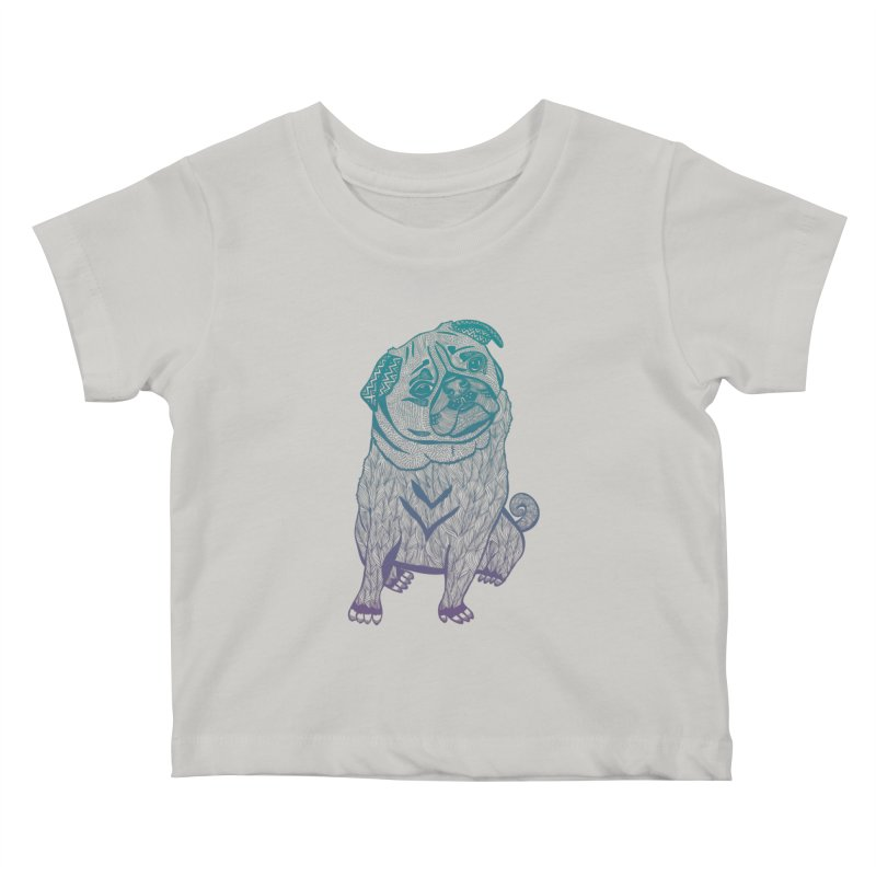 Ares The Pug Kids Baby T-Shirt by pomgraphicdesign's Shop