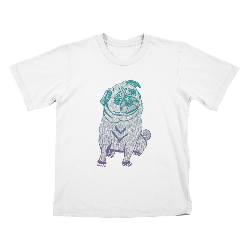 Ares The Pug Kids T-shirt by pomgraphicdesign's Shop