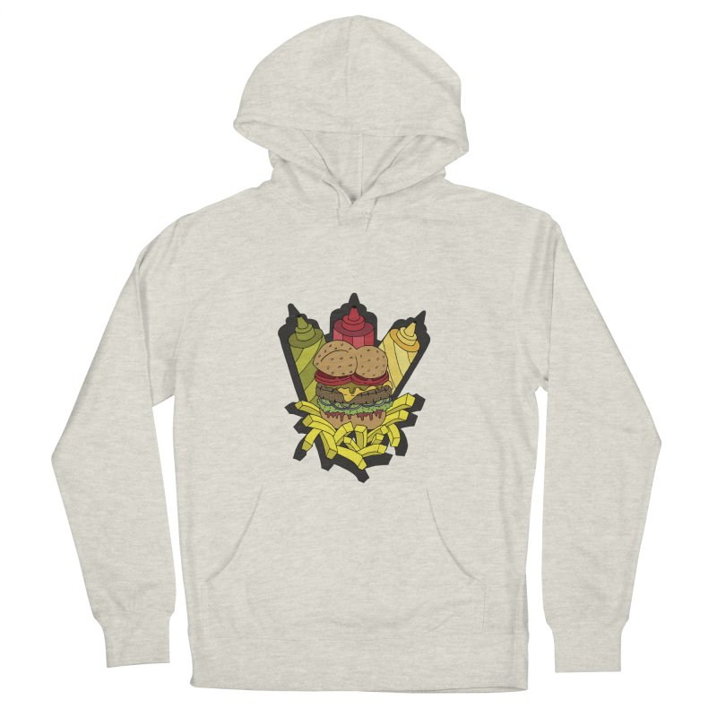Awesome Burger Women's Pullover Hoody by Pony Biam!