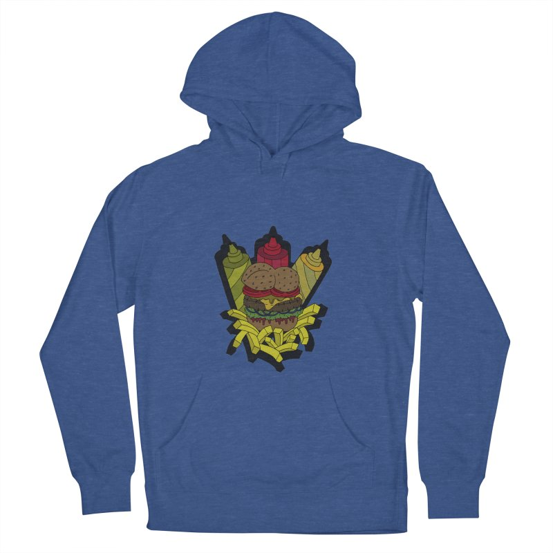 Awesome Burger Men's Pullover Hoody by Pony Biam!