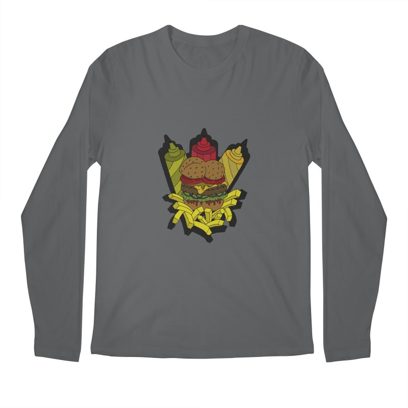 Awesome Burger Men's Longsleeve T-Shirt by Pony Biam!