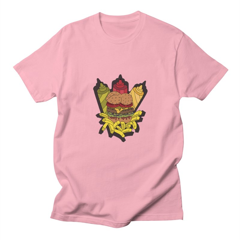 Awesome Burger Men's T-Shirt by Pony Biam!