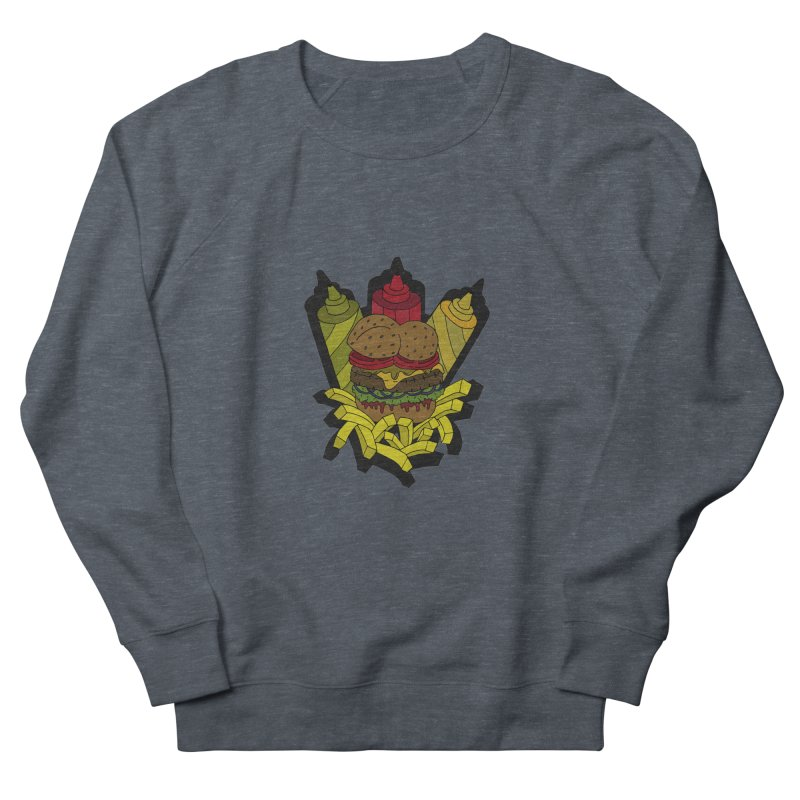 Awesome Burger Women's Sweatshirt by Pony Biam!