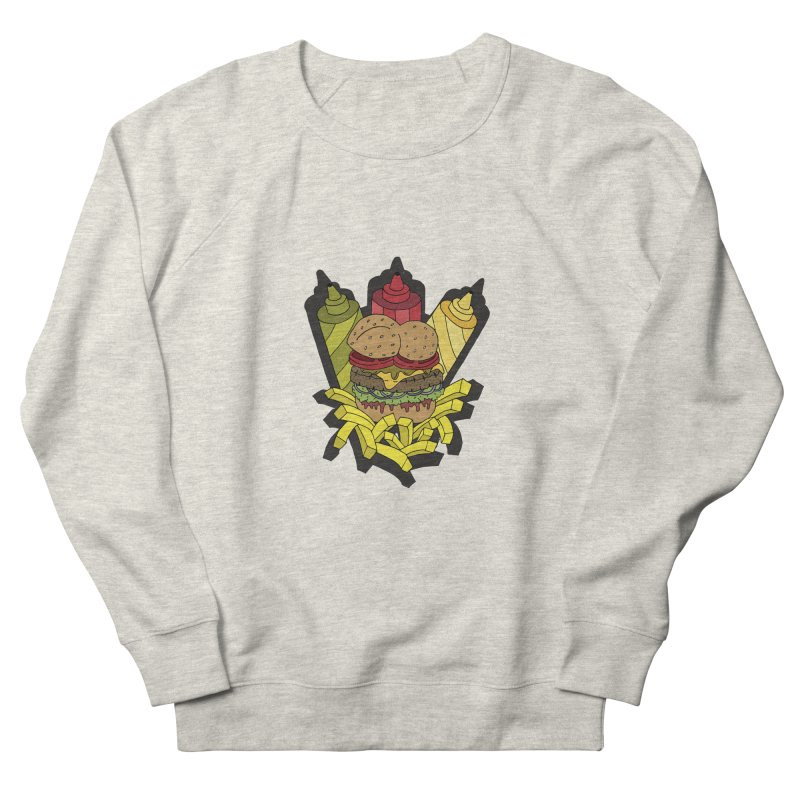 Awesome Burger Men's Sweatshirt by Pony Biam!
