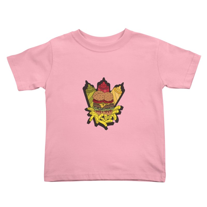 Awesome Burger Kids Toddler T-Shirt by Pony Biam!