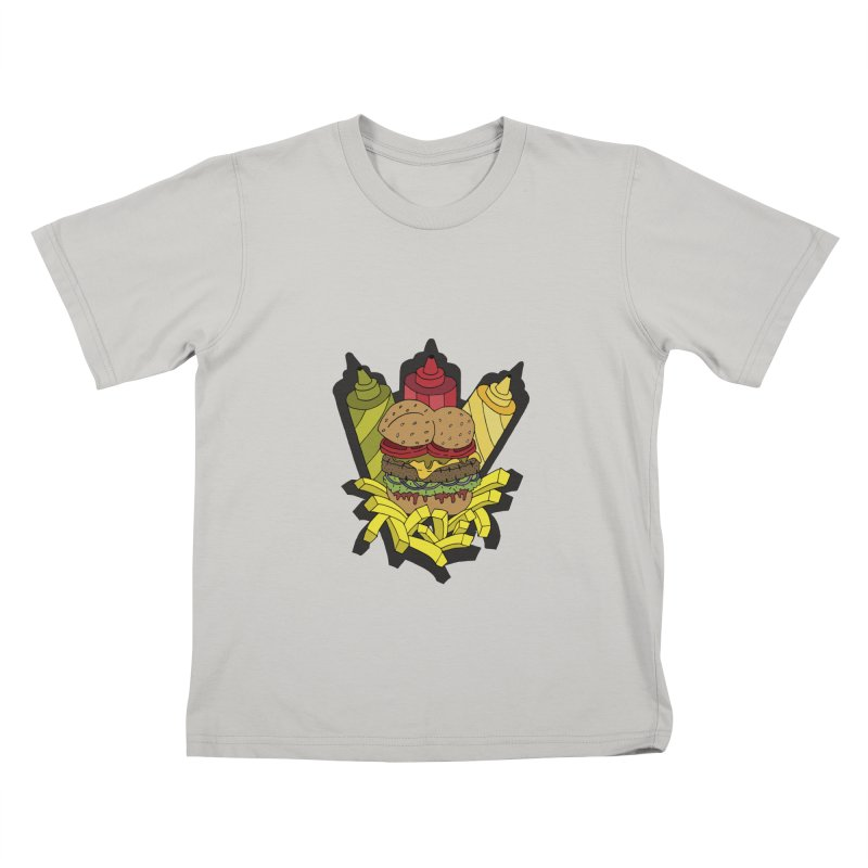 Awesome Burger Kids T-Shirt by Pony Biam!