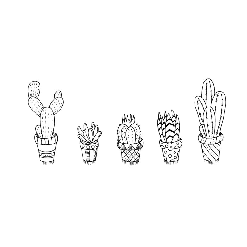 Cactus & Succulent None  by Pony Biam!