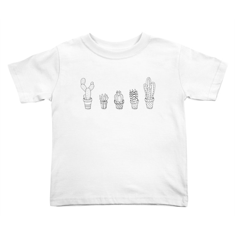 Cactus & Succulent Kids Toddler T-Shirt by Pony Biam!
