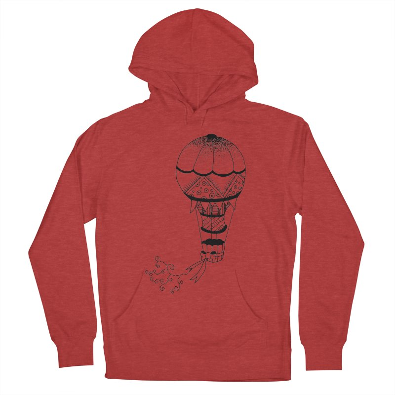 Hot Air Balloon Women's Pullover Hoody by Pony Biam!