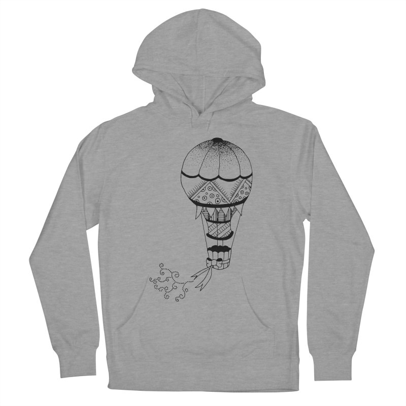 Hot Air Balloon Men's Pullover Hoody by Pony Biam!