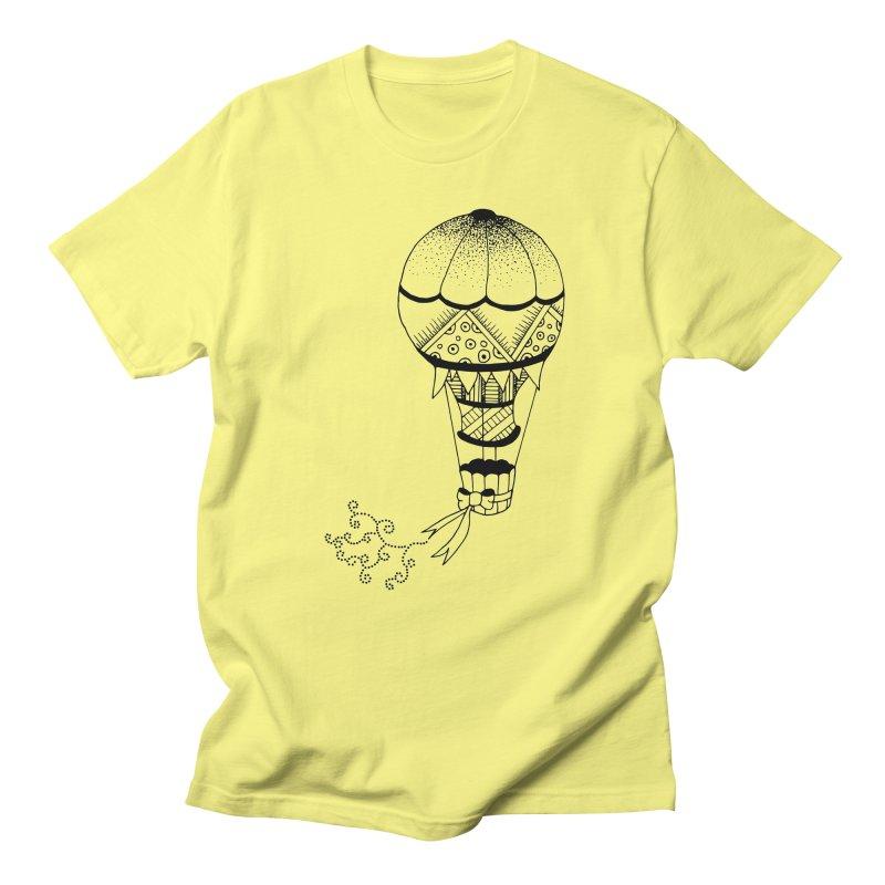 Hot Air Balloon Men's T-Shirt by Pony Biam!