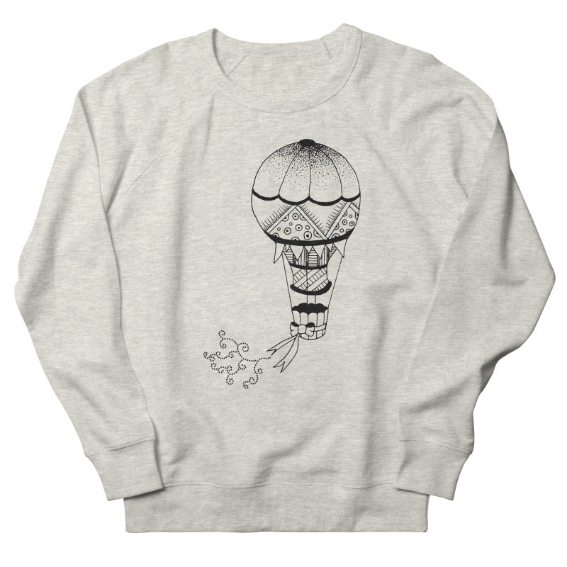 Hot Air Balloon Women's Sweatshirt by Pony Biam!
