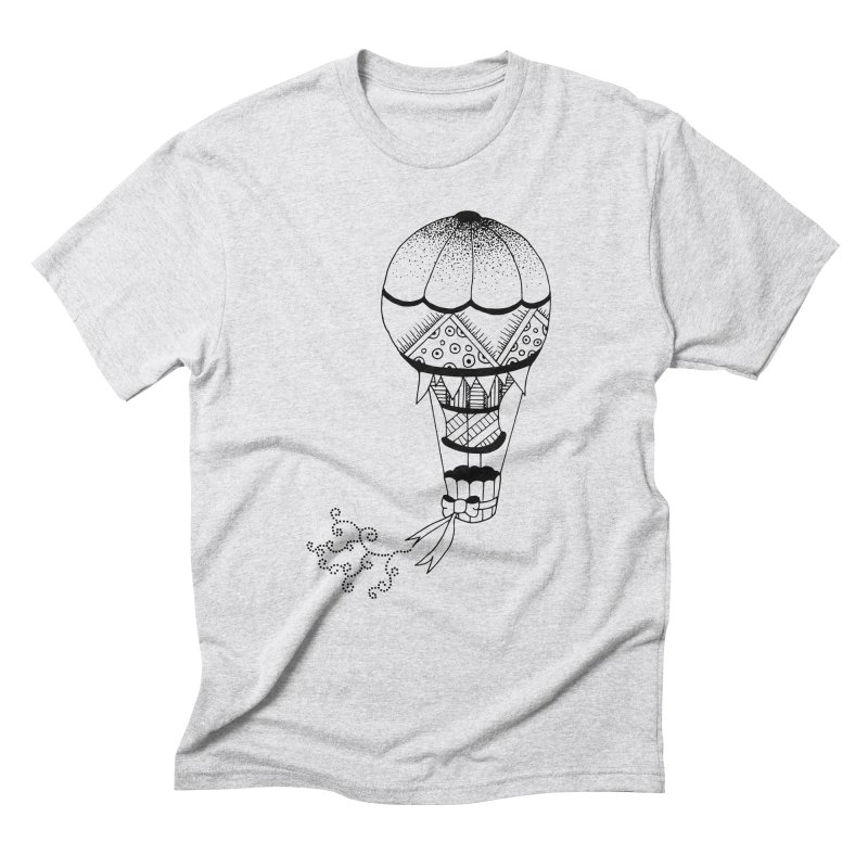Hot Air Balloon Men's Triblend T-shirt by Pony Biam!
