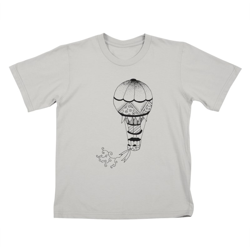 Hot Air Balloon Kids T-Shirt by Pony Biam!