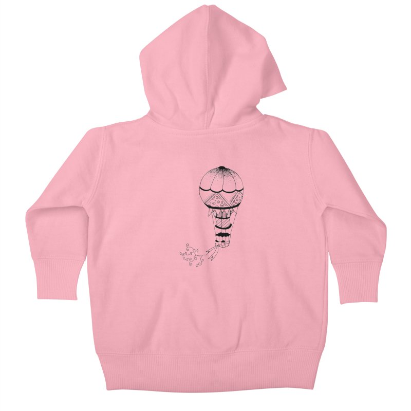 Hot Air Balloon Kids Baby Zip-Up Hoody by Pony Biam!
