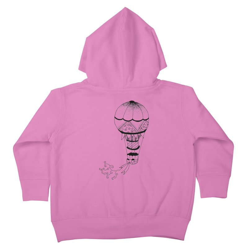 Hot Air Balloon Kids Toddler Zip-Up Hoody by Pony Biam!