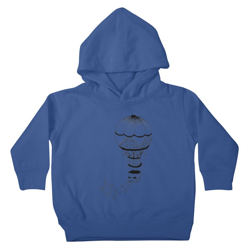Hot Air Balloon Kids Toddler Pullover Hoody by Pony Biam!