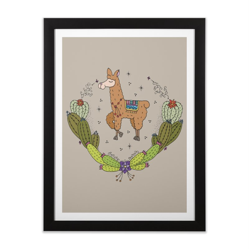 B*tch, I'm fabulous! Home Framed Fine Art Print by Pony Biam!