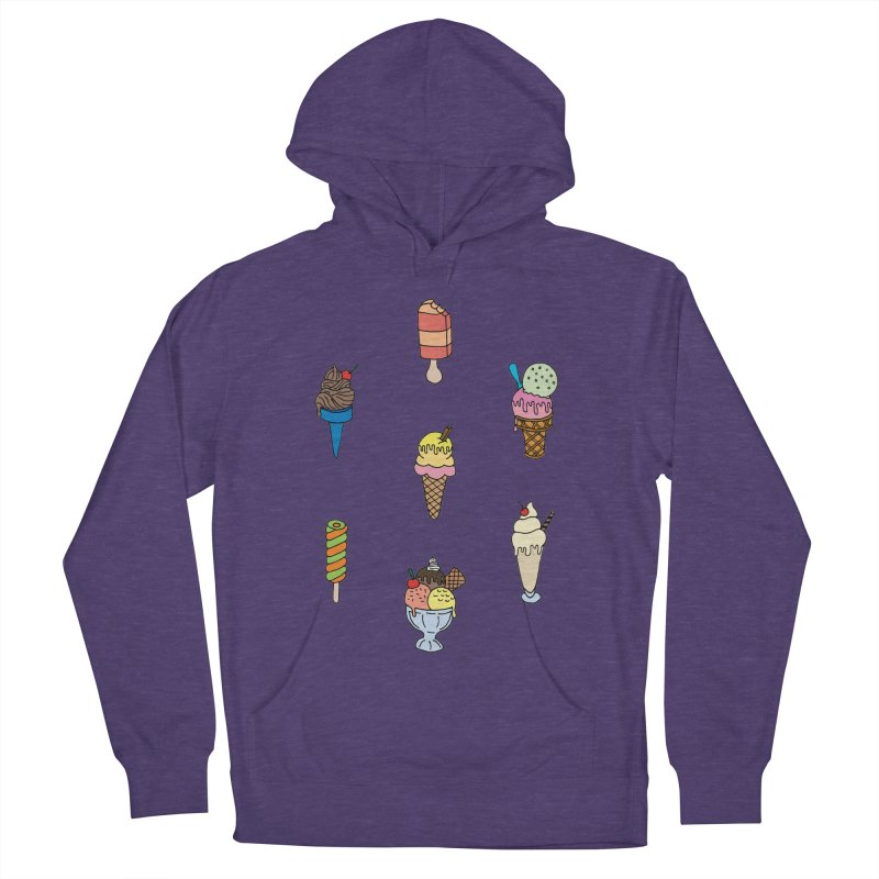 Ice Creams! Women's Pullover Hoody by Pony Biam!