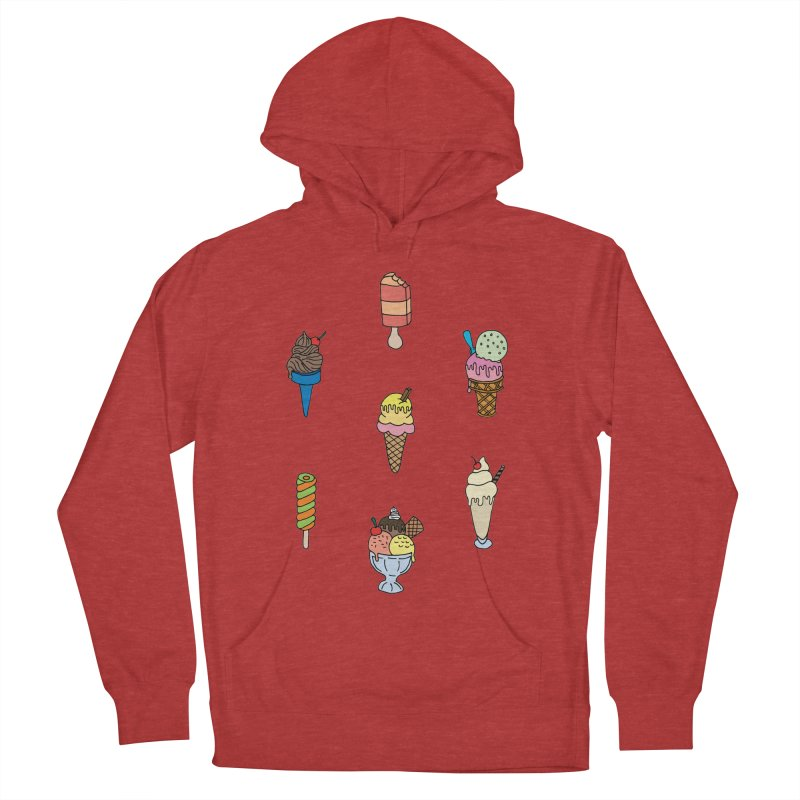 Ice Creams! Men's Pullover Hoody by Pony Biam!