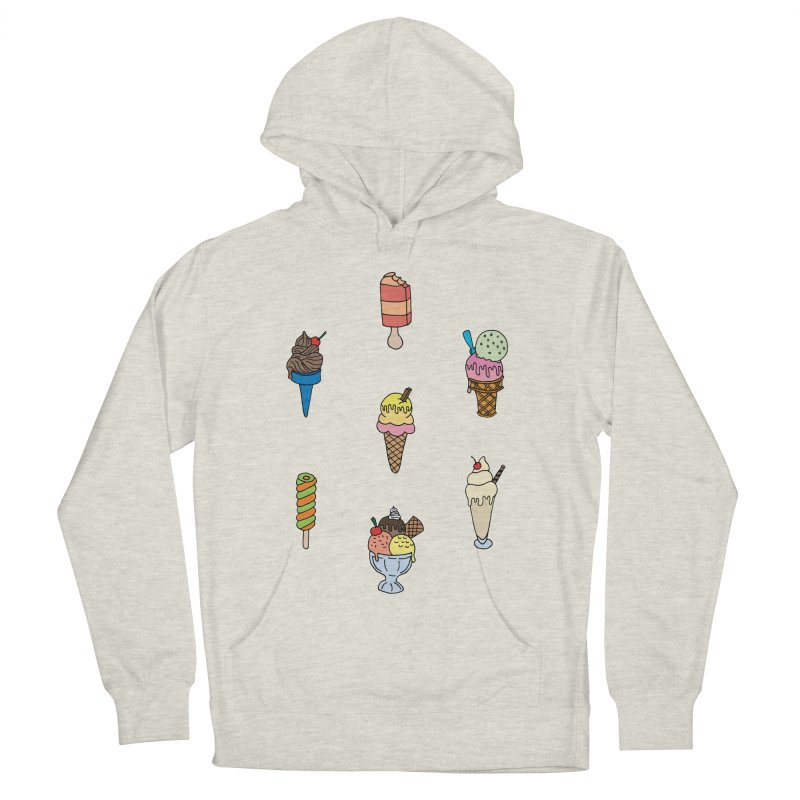 Ice Creams! Men's Pullover Hoody by Pony Biam!