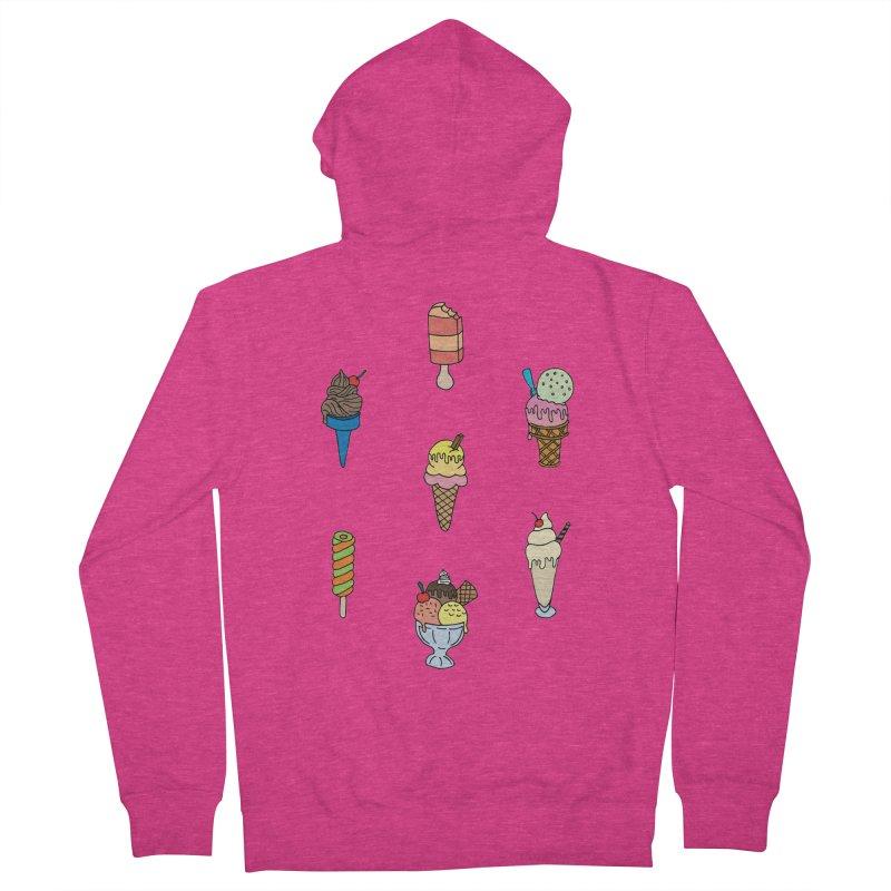 Ice Creams! Women's Zip-Up Hoody by Pony Biam!