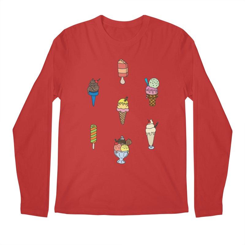 Ice Creams! Men's Longsleeve T-Shirt by Pony Biam!