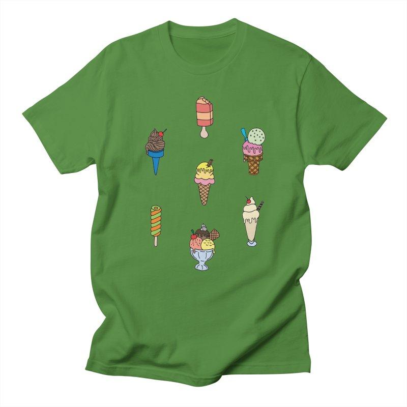 Ice Creams! Men's T-Shirt by Pony Biam!