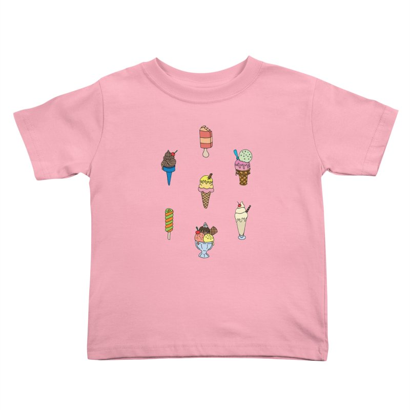Ice Creams! Kids Toddler T-Shirt by Pony Biam!