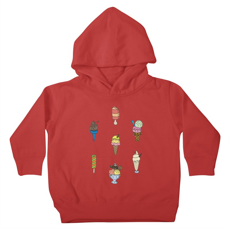 Ice Creams! Kids Toddler Pullover Hoody by Pony Biam!