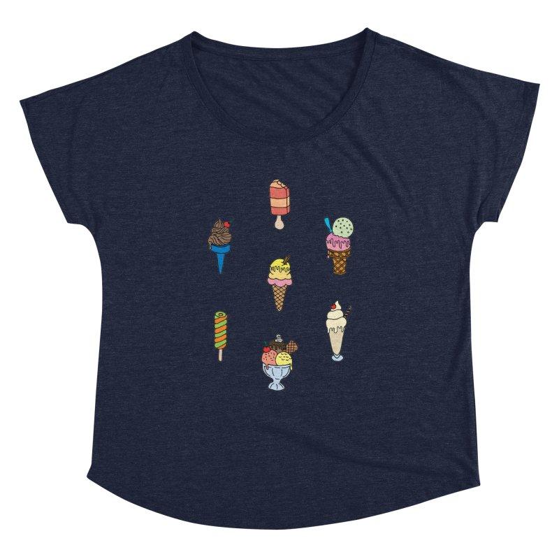 Ice Creams! Women's Dolman by Pony Biam!