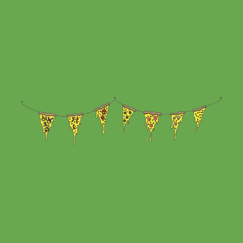 Pizza Pennants by Pony Biam!