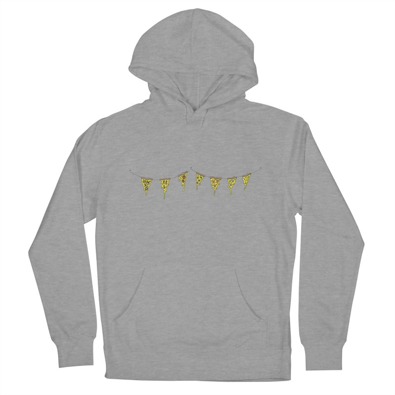 Pizza Pennants Women's Pullover Hoody by Pony Biam!