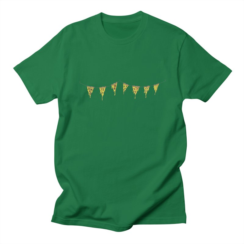 Pizza Pennants Men's T-shirt by Pony Biam!