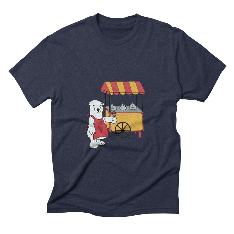 The perfect job Men's Triblend T-shirt by Pony Biam!