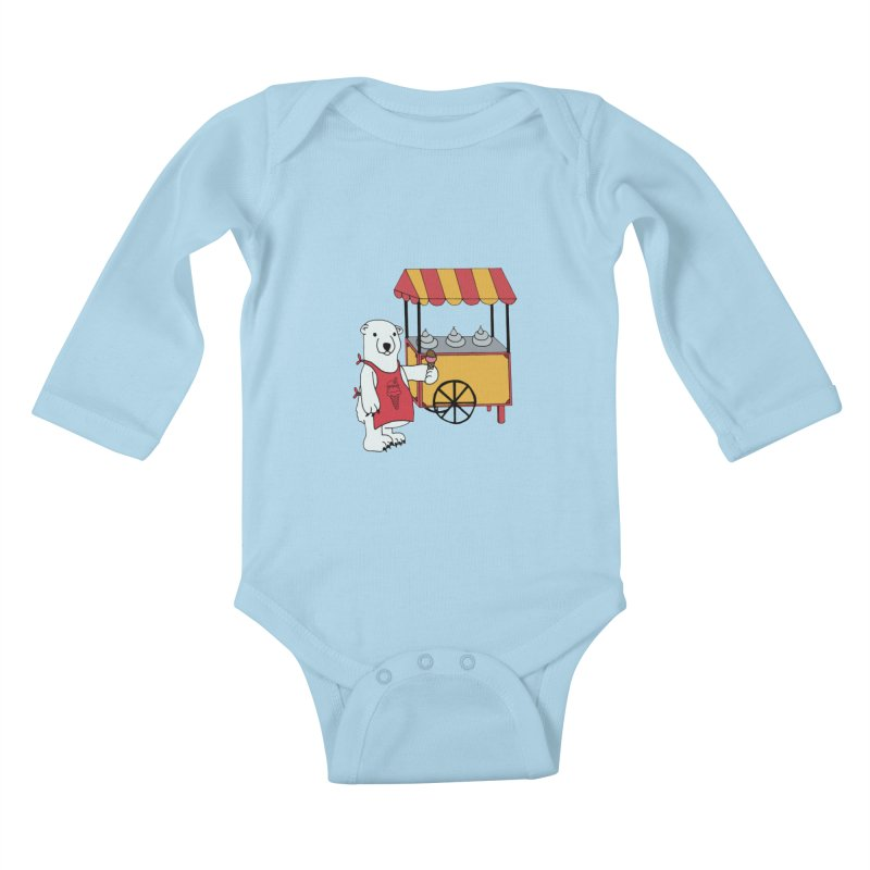 The perfect job Kids Baby Longsleeve Bodysuit by Pony Biam!