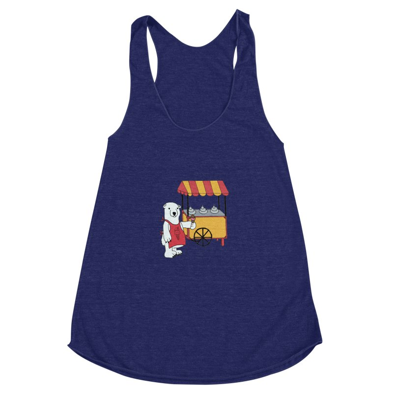 The perfect job Women's Racerback Triblend Tank by Pony Biam!