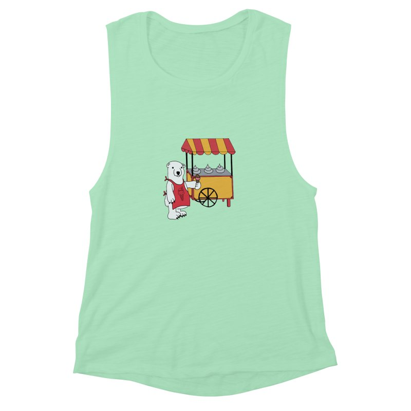 The perfect job Women's Muscle Tank by Pony Biam!
