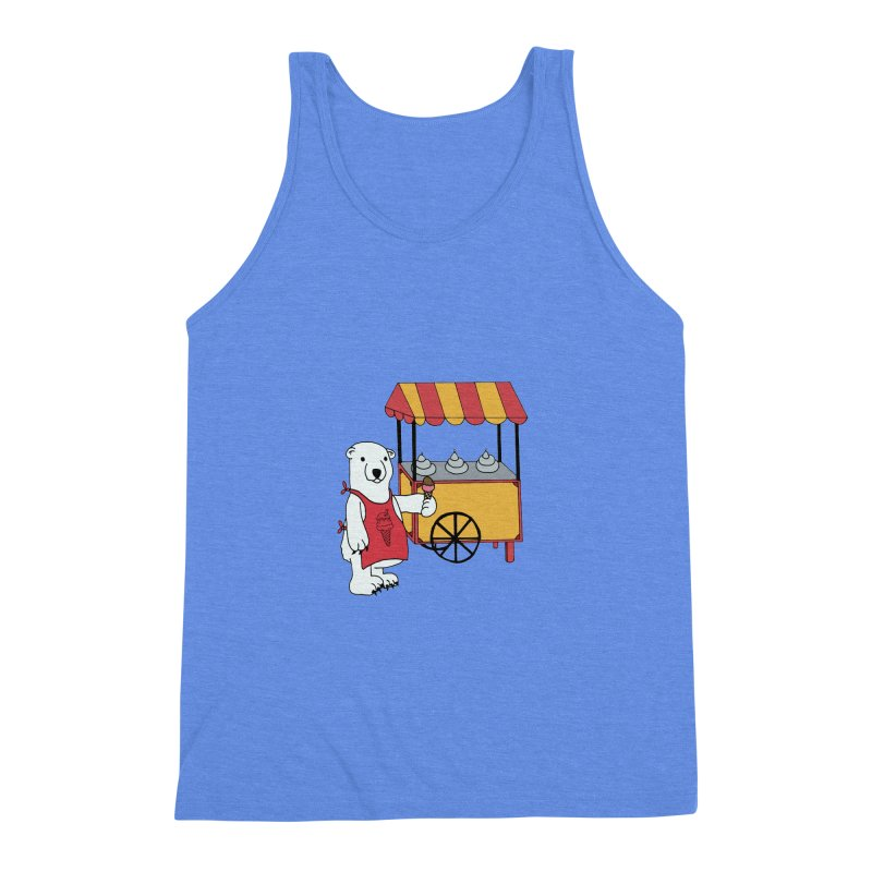 The perfect job Men's Triblend Tank by Pony Biam!