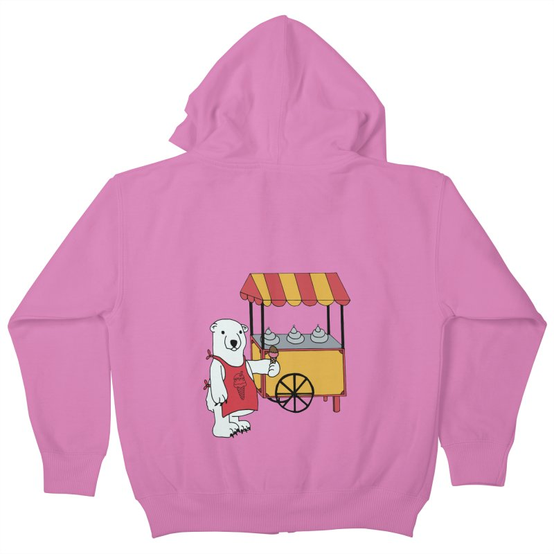 The perfect job Kids Zip-Up Hoody by Pony Biam!