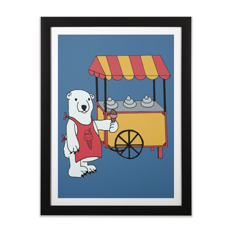 The perfect job Home Framed Fine Art Print by Pony Biam!