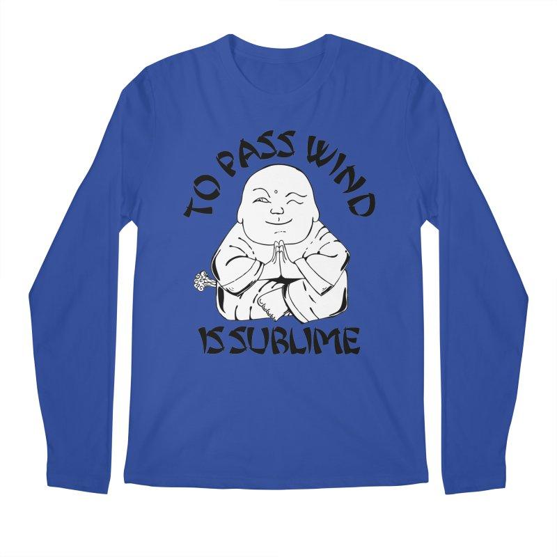 Tooting Buddah Men's Longsleeve T-Shirt by Strange Menagerie