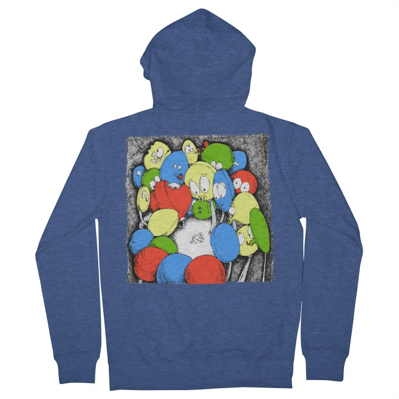 Suckers! Women's Zip-Up Hoody by Strange Menagerie