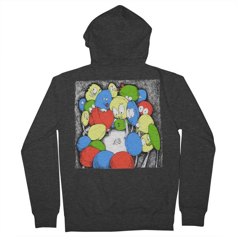 Suckers! Men's Zip-Up Hoody by Strange Menagerie