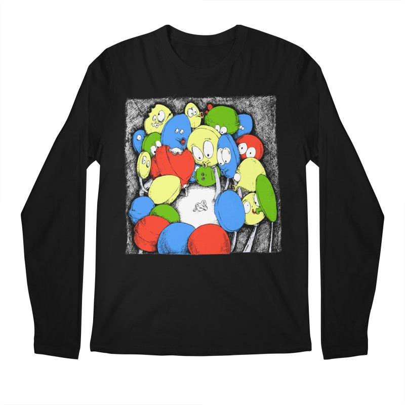 Suckers! Men's Longsleeve T-Shirt by Strange Menagerie